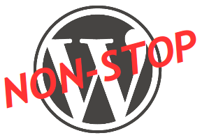 Wordpress non-stop