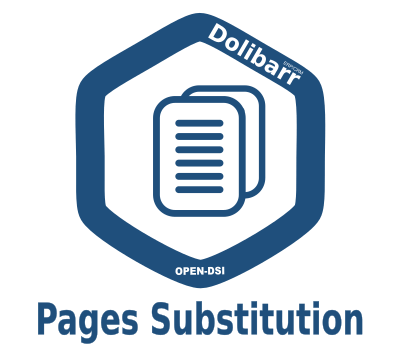 module additionnel Dolibarr Pages Substitution