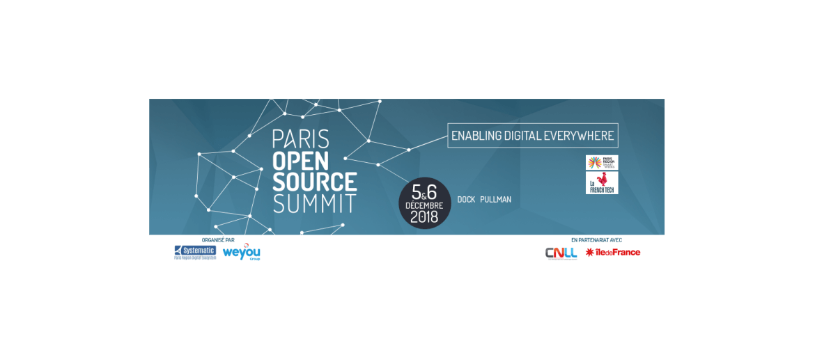 Paris Open Source Summit 2018